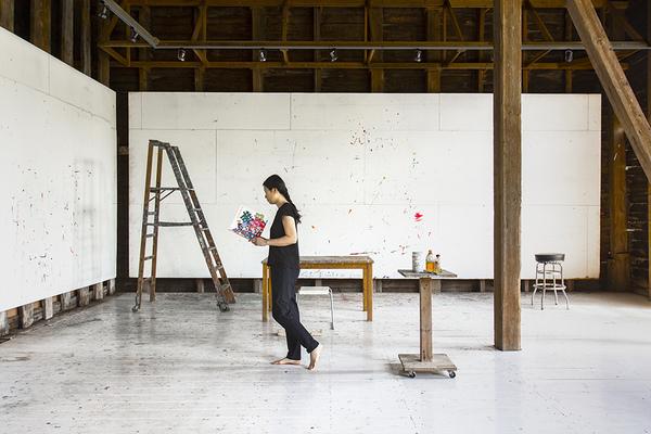 TRACES: 28 Days in Elizabeth Murray's Studio